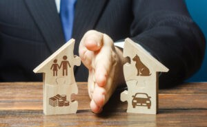 Dividing Real Property Between Unmarried People